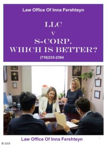 LLC vs S-Corp which is better?