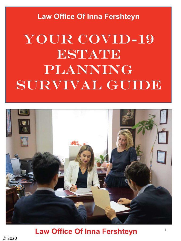 Covid-19 estate planning guide