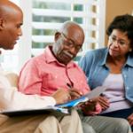 Alternative Text: Couple Gets Elder Law Planning for Long Distance Caregiving